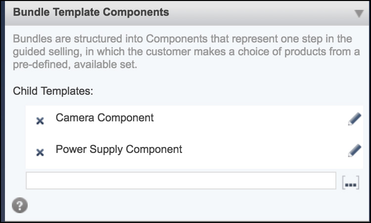 Bundle Template Components