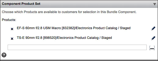 Component Product Set