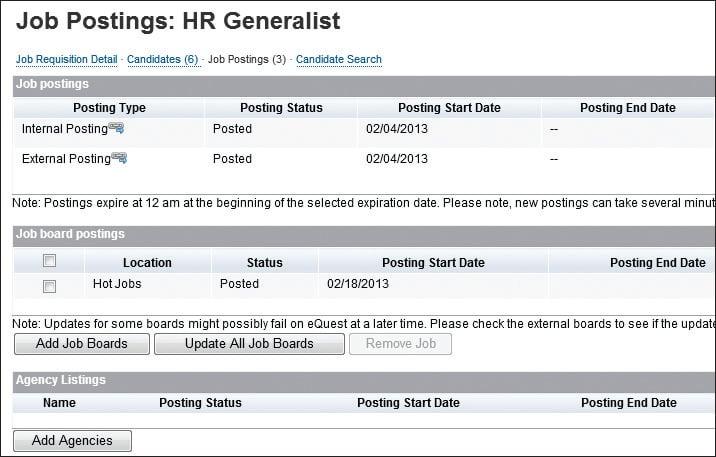 HR Generalist Job Posting