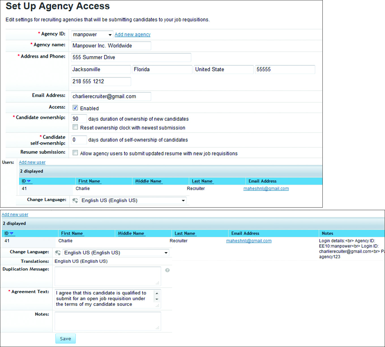 Agency Access