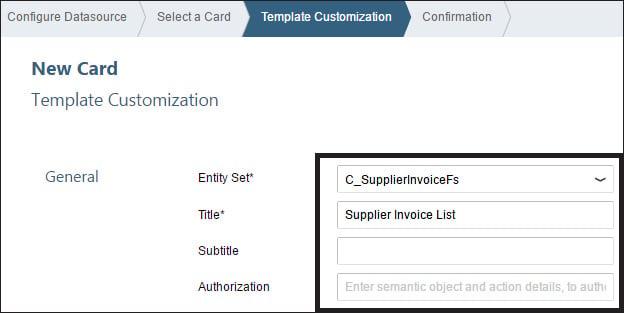 Template Customization