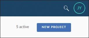 New SAP Build Project