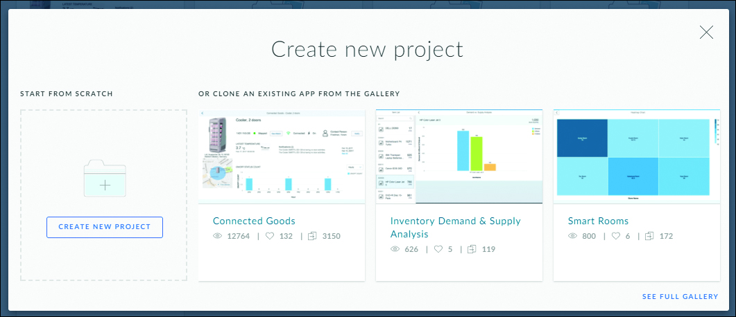 Create New SAP Build Project