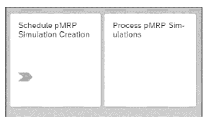 pMRP Applications in the SAP Fiori Launchpad