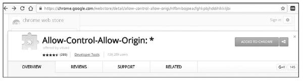 Allow-Control-Allow-Origin Chrome Plugin