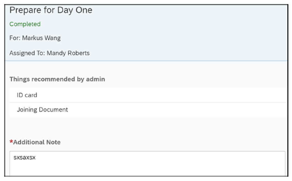 SAP SuccessFactors Onboarding: Prepare for Day One
