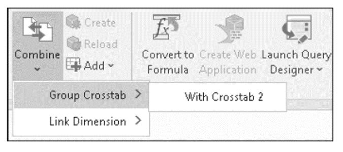 Group Crosstab