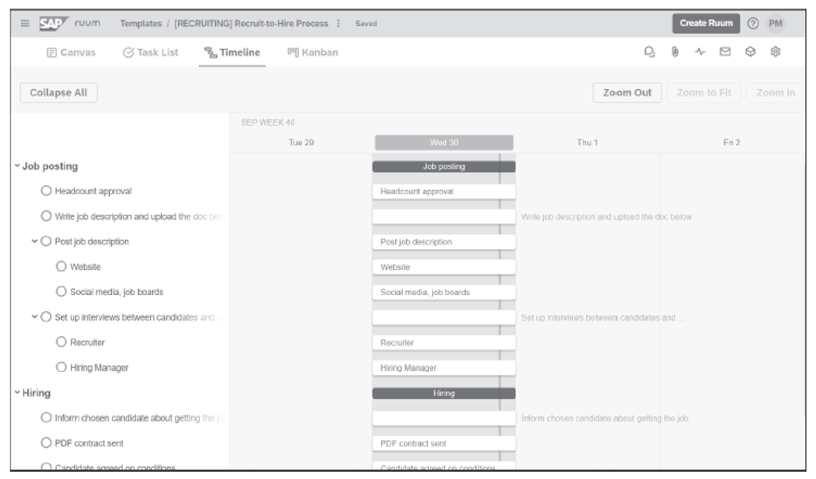 Process Building Using Ruum by SAP