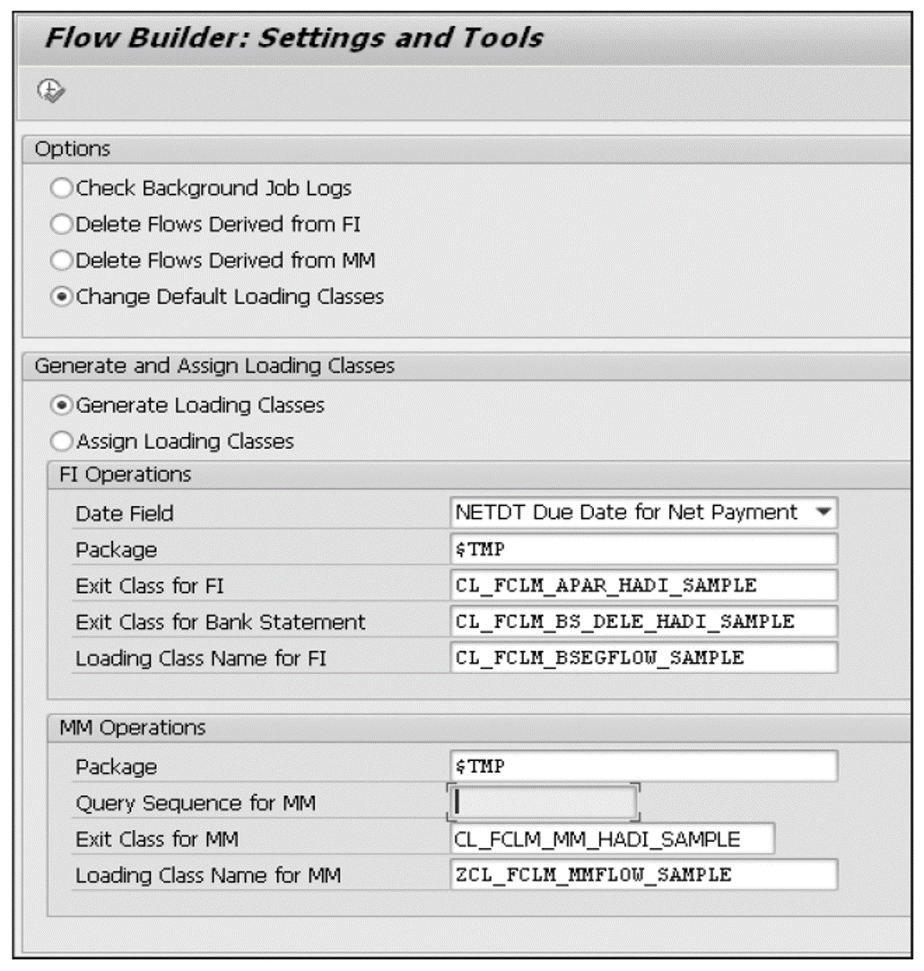 AMDP-Based Exit Class in the Financial Accounting Flow Builder