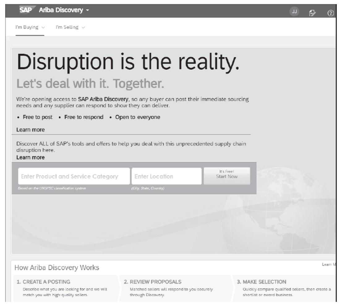 Using SAP Ariba Discovery as a Buyer