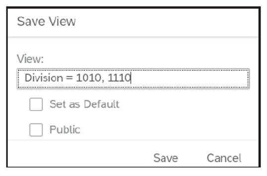 Setting Default and Public Options