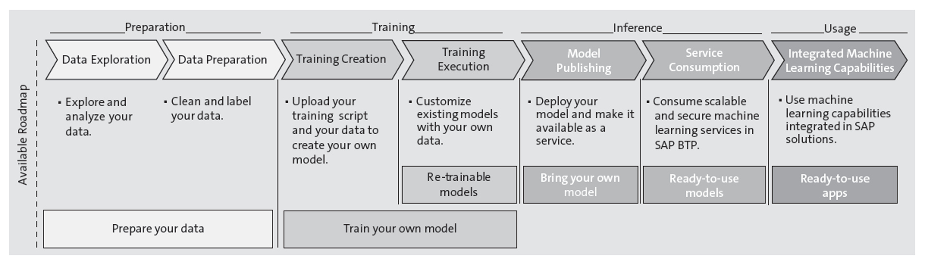 SAP Machine Learning Lifecycle Management