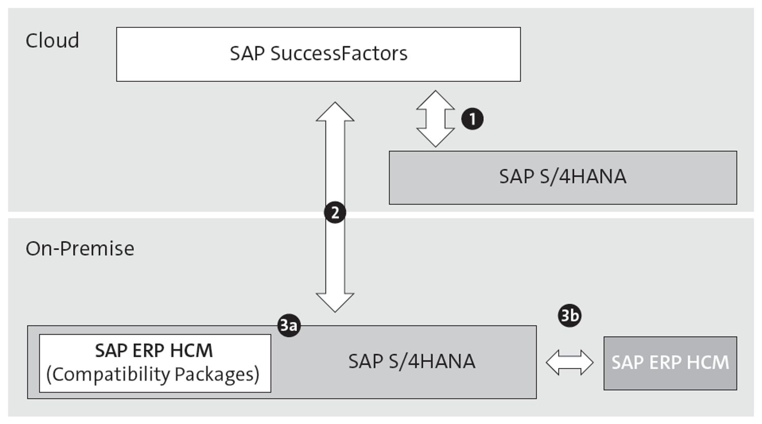 Deployment Variants for Human Resources Functions with SAP S/4HANA