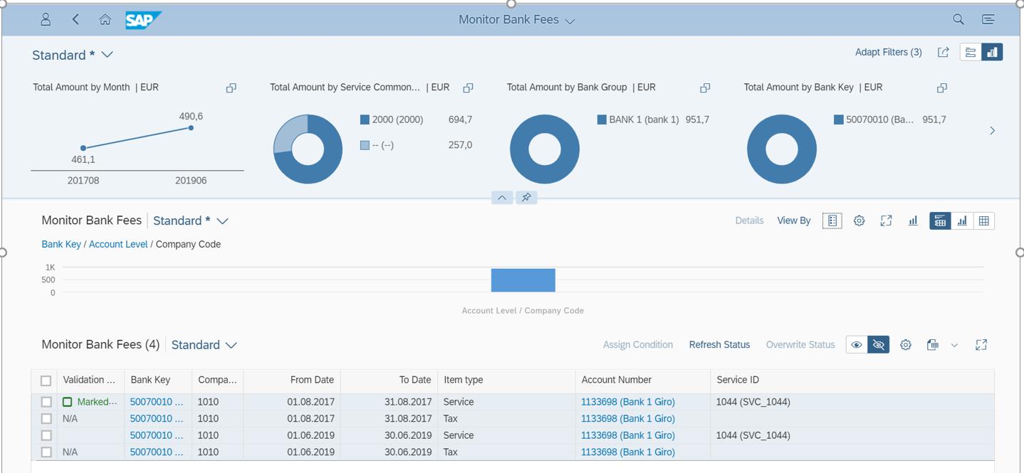 Monitor Bank Fees