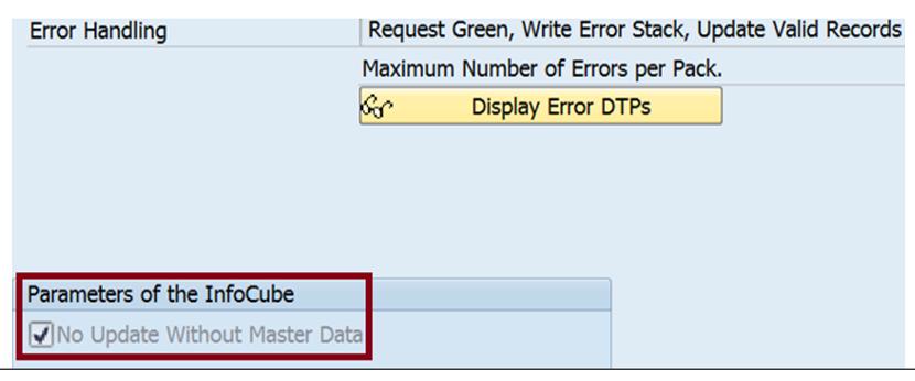 DTP Configuration - Target Infocube