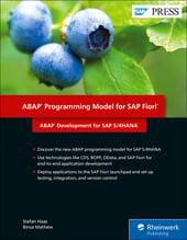 ABAP Programming Model for SAP Fiori: ABAP Development for SAP S/4HANA