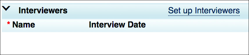 Interview Date