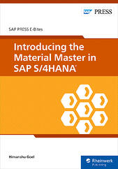 Introducing the Material Master in SAP S/4HANA