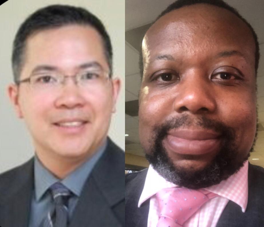 Alvin Tolentino and Michael Mkpadi